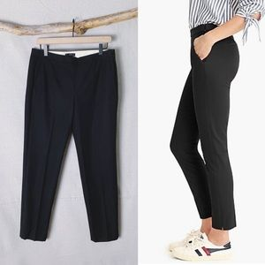 J. CREW Martie Slim Crop Pant in Bi-Stretch Cotton